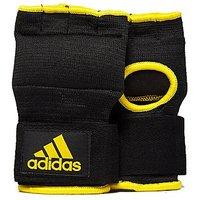 adidas Super Padded Inner Gloves - Black/Yellow - Mens