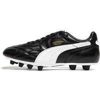 PUMA King FG Football Boots - black/white - Mens