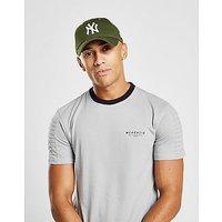 New Era MLB New York Yankees 9FORTY Essentials Cap - Olive/White - Mens
