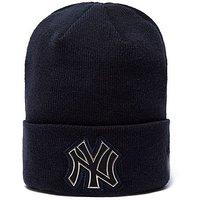 New Era MLB New York Yankees Beanie - Navy - Mens