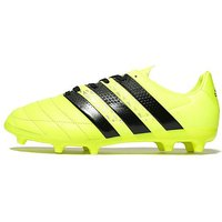 adidas Ace 16.3 FG Football Boots Junior - Yellow/Black - Kids