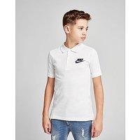Nike Franchise Polo Shirt Junior - White/Obsidian - Kids