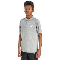 Nike Franchise Polo Shirt Junior - Grey/White - Kids