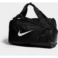 Nike Brasilia Small Duffle Bag - Black/White - Mens, Black/White