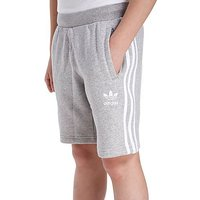 adidas Originals Trefoil Fleece Shorts Junior - Grey/White - Kids