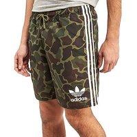 adidas Originals Trefoil Woven Shorts - Camouflage - Mens