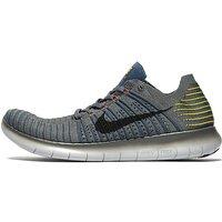 Nike Free RN Flyknit - Grey - Mens