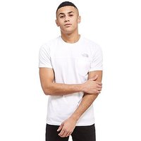 The North Face Zip Pocket T-Shirt - White - Mens