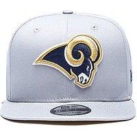 New Era 9FIFTY NFL Los Angeles Rams Snapback Cap - Grey - Mens
