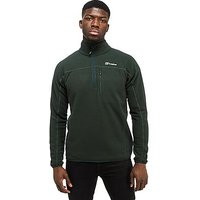 Berghaus Stainton Half Zip Fleece - Dark Green - Mens