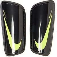 Nike Mercurial Slip In Shin Guards - Black/Volt - Mens