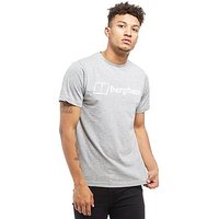 Berghaus Logo Graphic T-Shirt - Grey/White - Mens