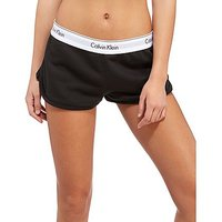 Calvin Klein Modern Fleece Shorts - Black - Womens