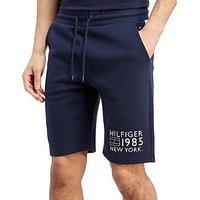 Tommy Hilfiger Flag Logo Shorts - Navy/White/Red - Mens