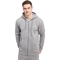adidas Originals Trefoil Full Zip Hoody - Grey - Mens