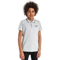Emporio Armani EA7 Core Polo Shirt Junior - Grey Marl - Kids