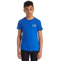 Emporio Armani EA7 Core Logo T-Shirt Junior - Blue - Kids