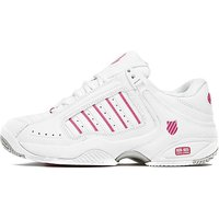 K-Swiss Defier Tennis Shoes Womens - White/Berry - Womens