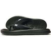 Nike Solay Flip Flops - Black/White - Mens