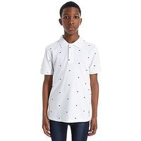 Tommy Hilfiger Repeat Flag Polo Junior - White - Kids