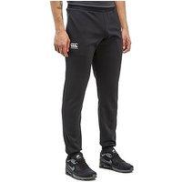 Canterbury Tapered Fleece Pants - Black - Mens