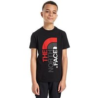The North Face Ascent T-Shirt Junior - Black/Red/Grey - Kids