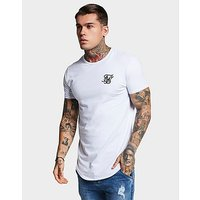 SikSilk Core Curve T-Shirt - White - Mens