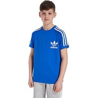 adidas Originals California T-Shirt Junior - Blue/White - Kids