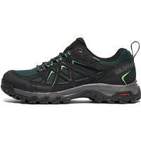 Salomon Evasion 2 Aero GTX Mens Hiking Shoes - Black/Dark Green - Mens