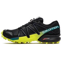 Salomon Speedcross 4 Trail Running Shoes - Black/Yellow - Mens