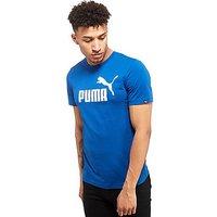 PUMA No.1 Logo T-Shirt - Blue/White - Mens