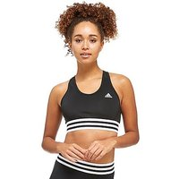 adidas Tape Bra - Black/White - Womens