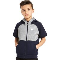 Nike Air Sleeveless Hoodie Children - Obsidian/Dark Grey - Kids