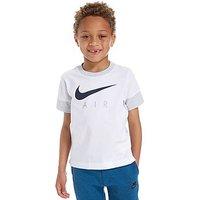 Nike Air T-Shirt Children - White/Obsidian/Grey - Kids