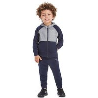 Nike Air Full Zip Suit Infant - Obsidian/Dark Grey/White - Kids