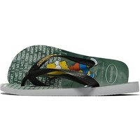 Havaianas Simpsons Flip Flops - Grey - Mens