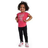 Nike Girls Iridescent T-Shirt Infant - Pink - Kids