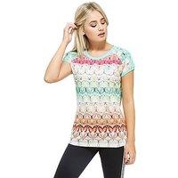 adidas Originals FARM Borbofresh T-Shirt - Multi Coloured - Womens