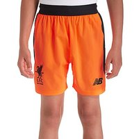New Balance Liverpool FC 2017/18 Third Shorts Junior - Orange - Kids