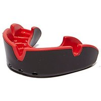 Opro Silver Junior Mouthguard - Red/Black - Mens
