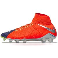 Nike Time To Shine Hypervenom Phantom III DF FG - Deep Royal Blue/ Hyper Orange - Mens