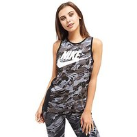 Nike Rock Printed Vest - Black/White/Grey - Womens