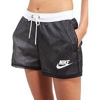 Nike Mesh Shorts - Black/White - Womens