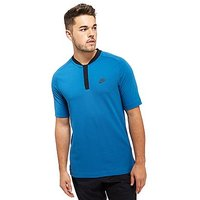 Nike Sportswear Bonded Polo Shirt - Blue - Mens
