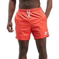 Nike Flow Shorts - Red/White - Mens