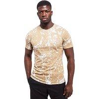 Nike Splatter T-Shirt - Khaki/White - Mens