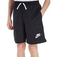 Nike Flow Swimming Shorts Junior - Black/White - Kids