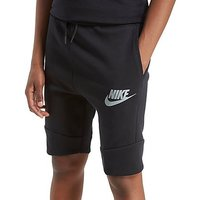 Nike Tech Fleece Shorts Junior - Black/Grey - Kids