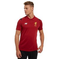 New Balance Liverpool FC Polo - Red - Mens