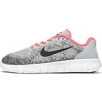 Nike Free RN Junior - Grey/Pink - Kids